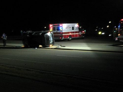 ambulance accident chicago