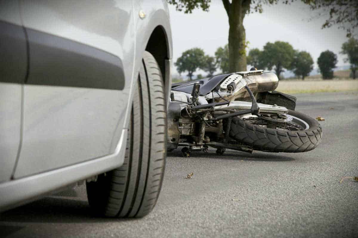 Chicago motorcycle car accident