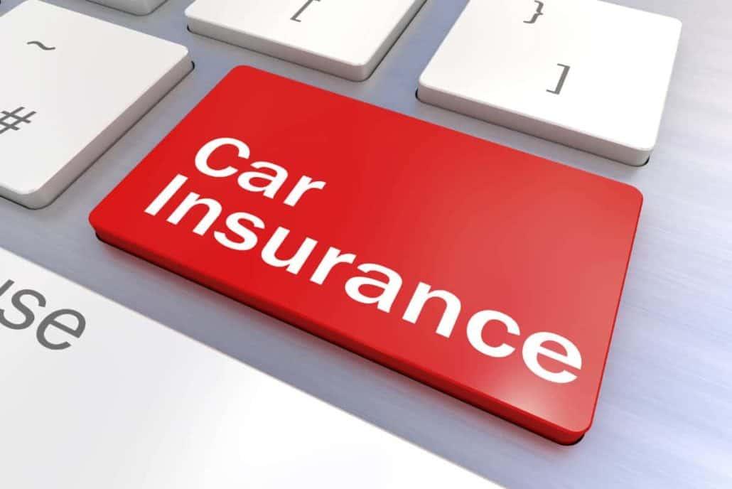 car insurance button