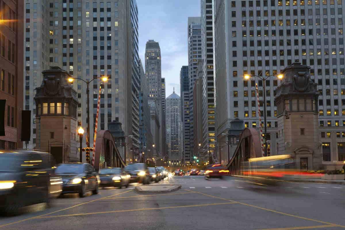 chicago car accident speeding