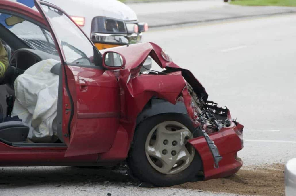 chicago car crushed