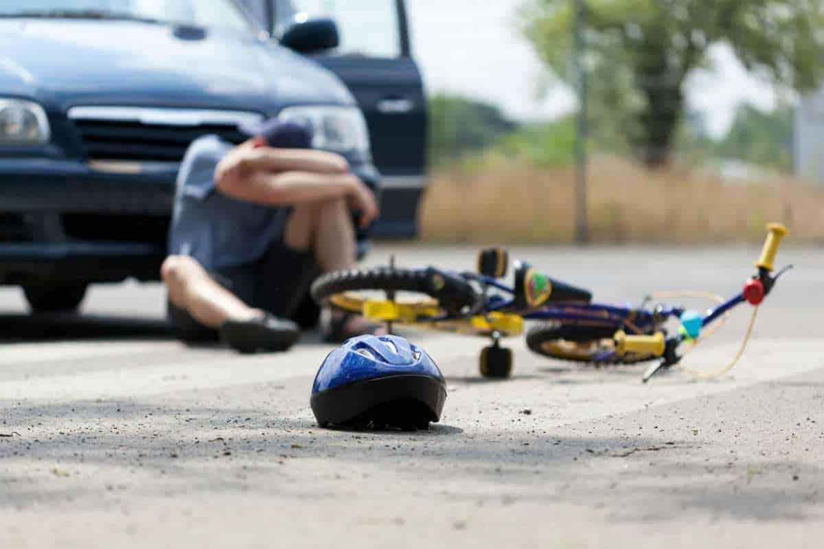 degloving bike accident