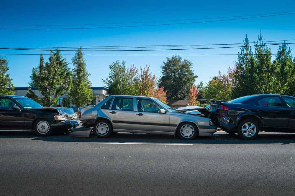 Who Is At Fault In A Chain Reaction Vehicle Accident?