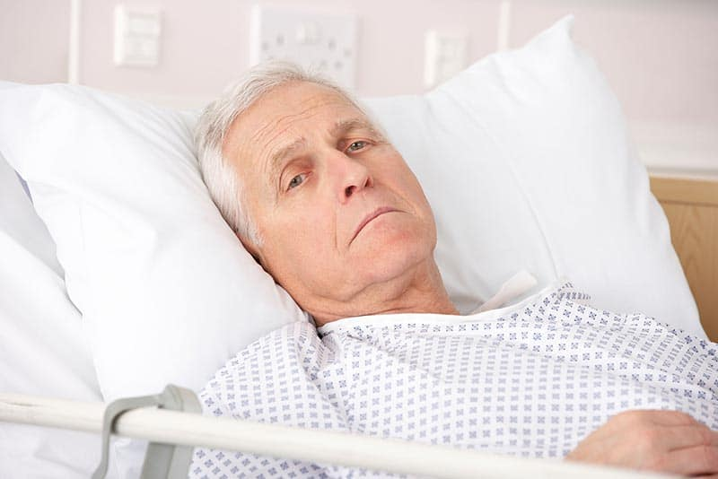 Bed sores from nursing home neglect 1