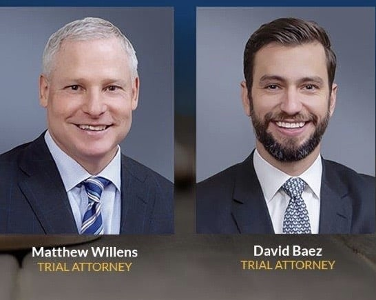 Matt willens and David Baez are Chicago's preeminent Wrongful Death and Personal Injury Lawyers.
